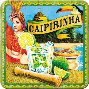 Nostalgic Art - Nostalgic Art Caipirinha Bardak Altlığı