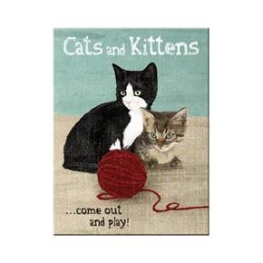 Nostalgic Art - Nostalgic Art Cats and Kittens Magnet 14242