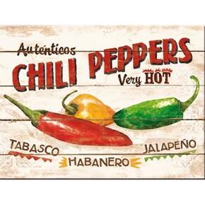 Nostalgic Art - Nostalgic Art Chili Peppers Magnet 14290