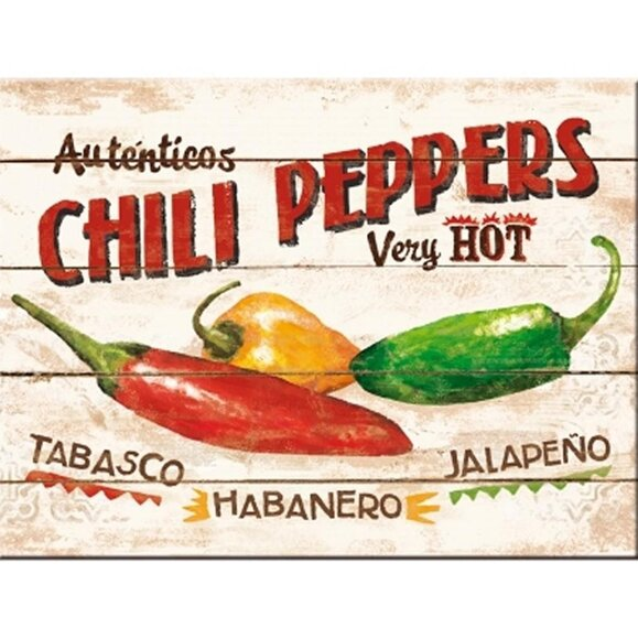 Nostalgic Art Chili Peppers Magnet 14290