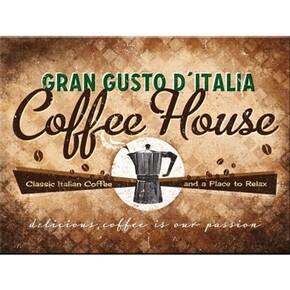 Nostalgic Art - Nostalgic Art Coffee House Magnet 14284