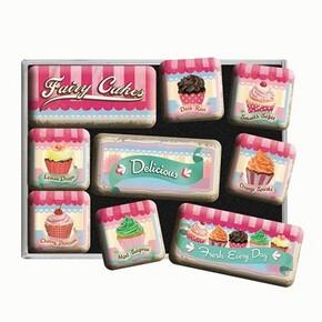 Nostalgic Art Fairy Cakes Delicious Magnet Set 9 Parça - Thumbnail