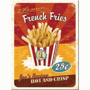 Nostalgic Art - Nostalgic Art French Fries Magnet 14231