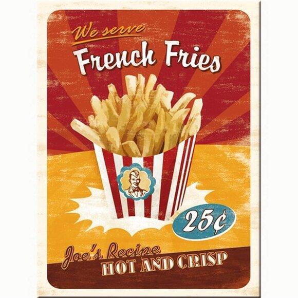 Nostalgic Art French Fries Magnet 14231