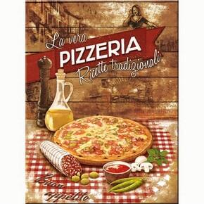 Nostalgic Art - Nostalgic Art Pizzeria La Vera Magnet 14289