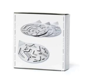 Nuance Paslanmaz Çelik Bardak Altlıkları 4 lü Set - Thumbnail