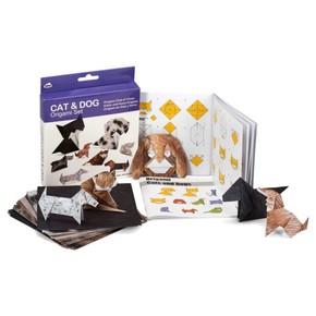 ORİGAMİ CAT & DOG Kedi ve Köpek Origami Seti - Thumbnail