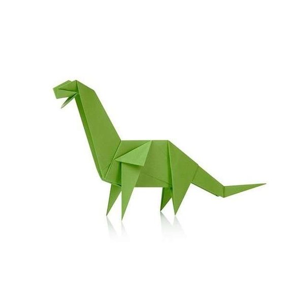 ORİGAMİ Dinosaur Dinozor Origami Seti