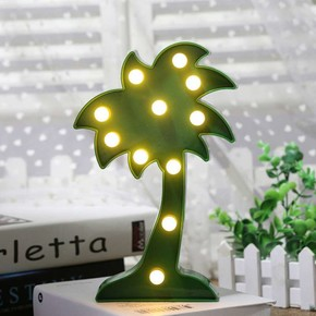 Qline - Palmiye Led Gece Lambası