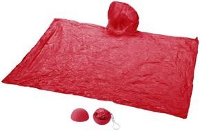 PONCH-O Pvc Yağmurluk Kırmızı - Thumbnail
