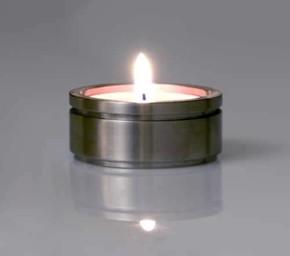 QLINE Tealight Mumluk Yuvarlak - Thumbnail