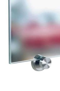 Q TOO - QUNO Paslanmaz Çelik Ayna Tutucu 4 adet / Paket