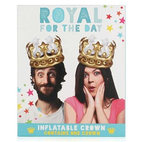 NPW - ROYAL For The Day Şişme Kral Tacı
