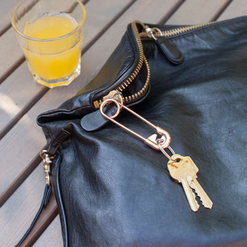 Kikkerland SAFETY PIN Çengelli İğne Anahtarlık