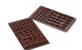 SILIKOMART - Silikomart 123 Çikolata Kalıbı