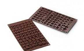 SILIKOMART - Silikomart Abc Çikolata Kalıbı