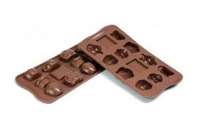 SILIKOMART - Silikomart Teatime Çikolata Kalıbı