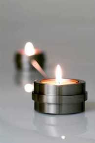 Q TOO - TWILIGHT 2li Tealight Mumluk