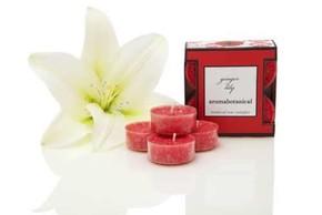 Aroma Botanical - Parfümlü Tealight Mum Ginger Lily