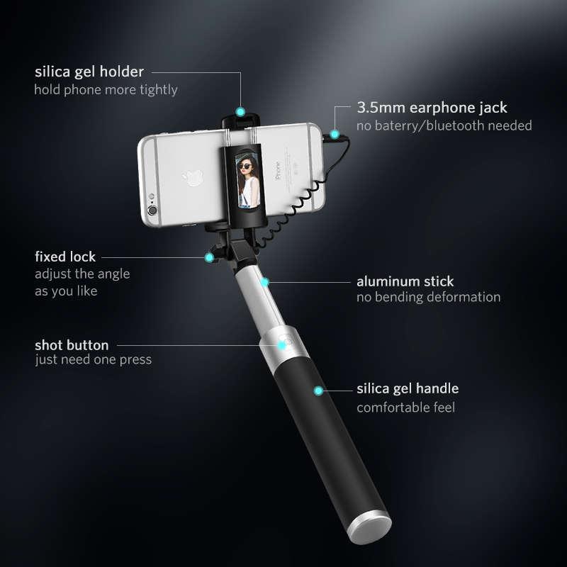 UGREEN Selfie Özçekim Çubuğu