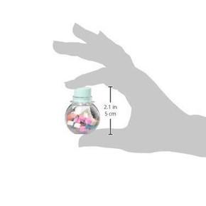 UNICORN MINI ERASER POT Silgiler Mini Kavanozda 12li Set - Thumbnail