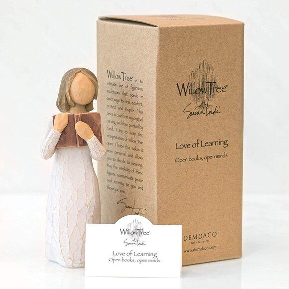 Willow Tree Love Of Learning - Öğrenme Aşkı Biblo