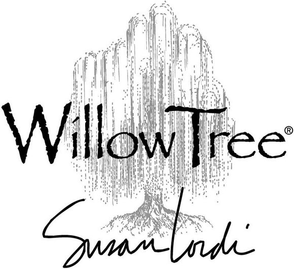 Willow Tree Surrounded by Love Askili Süs