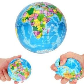Qline - WORLDMAP Dünya Haritalı Stres Topu